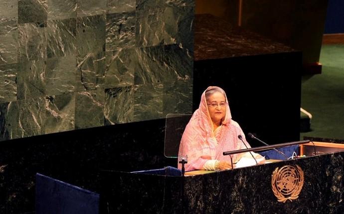 hasina_at_UN_speech