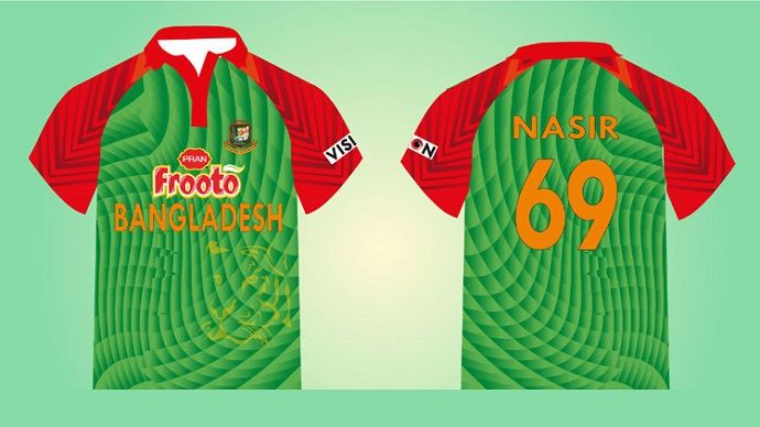 Bangladesh-Cricket--Jersey
