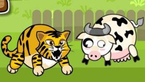 tiger-cow
