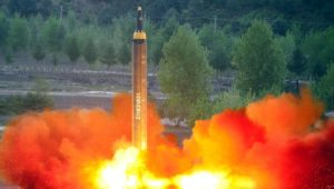 Missile-test