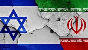 Israel-Iran-Flags