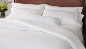 white-bed