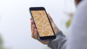 map-in-smart-phone