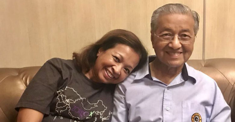 mahathir-with-daughter