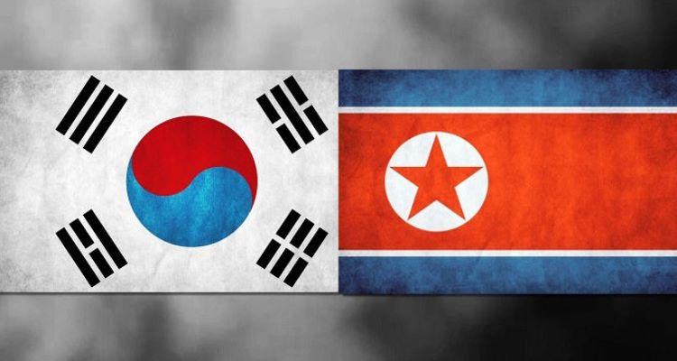 two korean flag