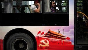 north korea bus