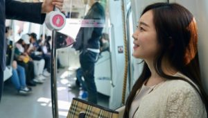 subway women korea