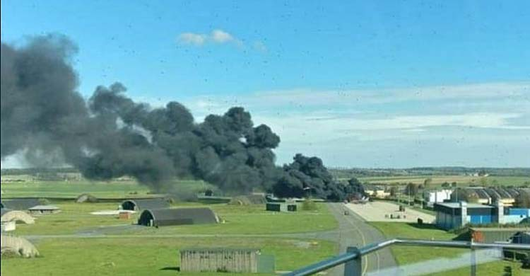 plane-fire