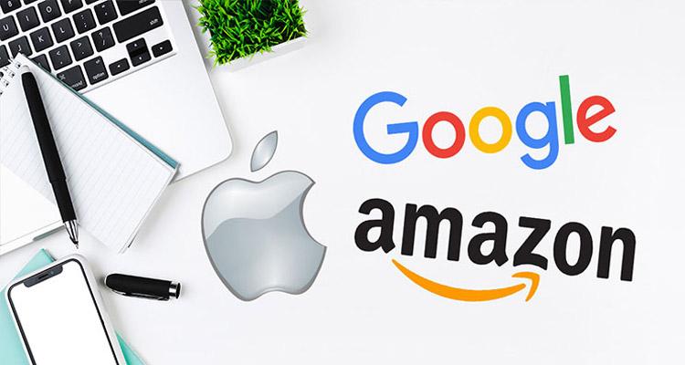 google-apple-amazon