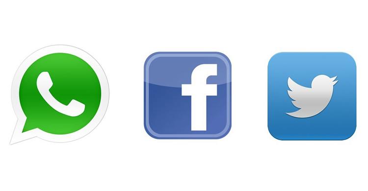 whatsapp-twitter-facebook