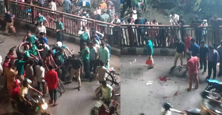 police-attack